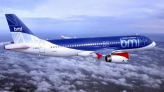 Самолет Airbus-320 компании bmi