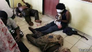 Взрыв в Абудже