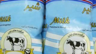 مصرف شیر