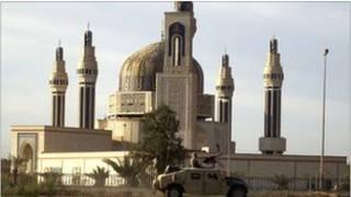 Mesquita de Umm al-Qura (foto de arquivo tirada em 2003)