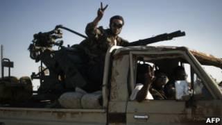 مخالفان مسلح سرهنگ قذافی