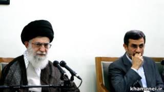 احمدی نژاد خامنه ای