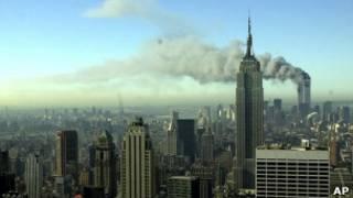 Ataques de 11 de setembro. Foto: AP
