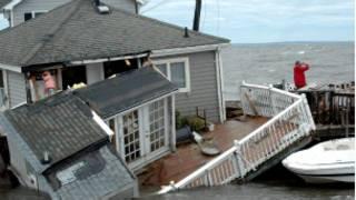 Lụt lội ở Mỹ do bão Irene
