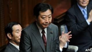 日本新任首相野田佳彦(30/08/2011)