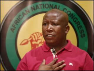 Julius Malema na jam'iyyar ANC a Afirka ta Kudu