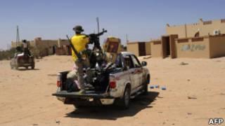 Rebeldes líbios. Foto: AFP