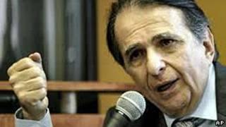 Alberto Santofimio, ex ministro de Justicia de Colombia