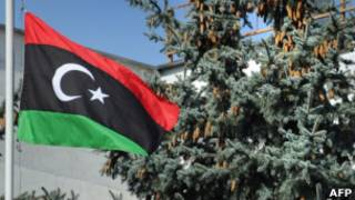Флаг Переходного национального совета Ливии
