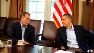 Джон Бонэр и Барак Обамма