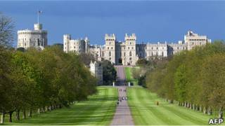 O castelo de Windsor (Foto: AFP/ Getty Images)