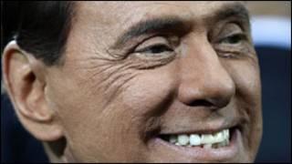 इटली के प्रधानमंत्री बर्लुसकोनी