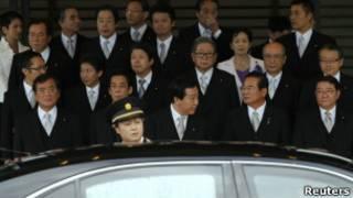 новый кабинет министров Японии