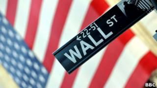 Wall Street, Nova York. BBC