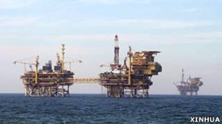 蓬莱海上钻井平台