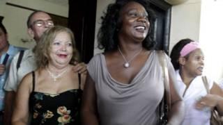古巴「白衣女士」運動領袖