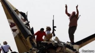مخالفان در لیبی