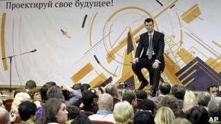 Прохоров на предвыборной пресс-конференции