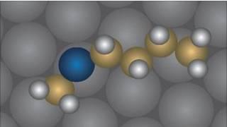 la molécula usada en el experimento
