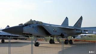 МиГ-31 на авиашоу МАКС-2011