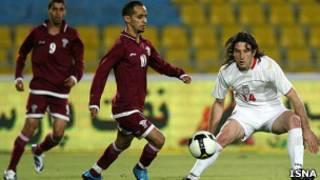 بازی ایران و قطر