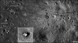 चंद्रमा की सतह