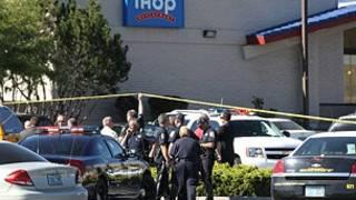 Hiện trường vụ nổ súng ở Nevada, Mỹ
