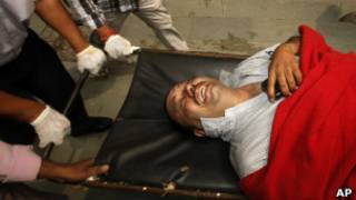 Quang cảnh sau vụ nổ bom tại Delhi
