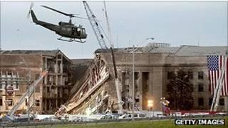 صور من الأرشيف عن تعرض البنتاغون لهجوم في 11 سبتمبر 2001