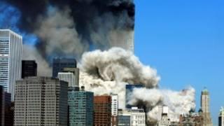 Tòa tháp đôi bị tấn công
