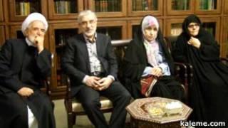 فاطمه و مهدی کروبی، میرحسین موسوی و زهرا رهنورد