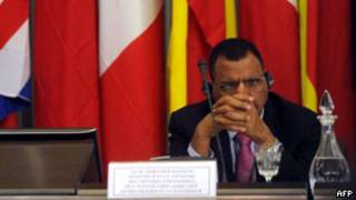 尼日爾外交部長巴祖姆(07/09/2011)