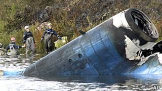 سقوط هواپیمای روسی