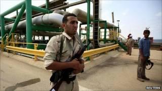منشأة نفطية ليبية