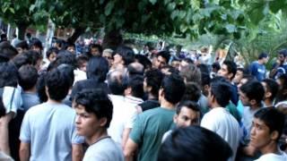 پناهجویان افغان در پارک ویکتوریا، آتن