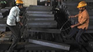स्टीलबार की फ़ैक्टरी