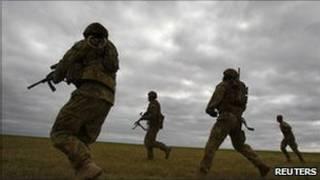 Forças australianas (Reuters)