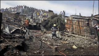 Umuriro i Nairobi muri Kenya