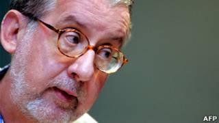 Paulo Sérgio Pinheiro em 2005. Foto: AFP