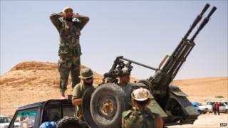 الثوار الليبيون