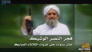 Imagem do vídeo da Al-Qaeda/Reuters