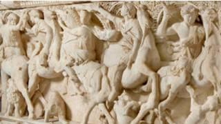 Sidamara Lahdi'nden detay (Fotoğraf: İstanbul Arkeoloji Müzesi)