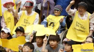 前慰安婦抗議