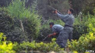Cảnh sát Afghanistan đọ súng với phiến quân