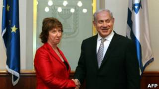 Кэтрин Эштон и Биньямин Нетаньяху