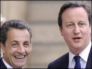 David Cameron da Sarkozy