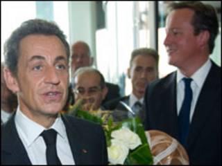 Cameron da Sarkozy a Libiya