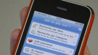 """Мобильное приложение """"Еврей или не еврей?"""", отозванное Apple во Франции"""