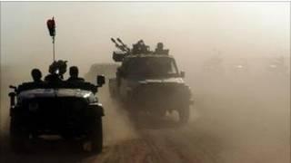 Quân nổi dậy chống Gaddafi tiến vào Sirte