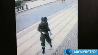 Брейвик в полицейской форме
